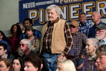 Hal Holbrook as a Boeing engineer turned farmer who speaks out against fracking.